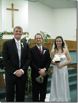 Eric, Sarah and Bro. Matt
