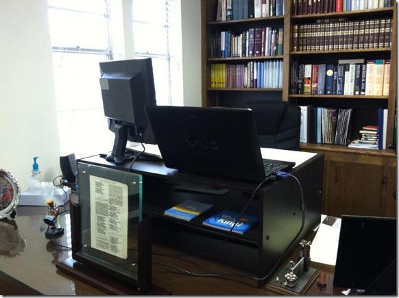 Standing Desk Front