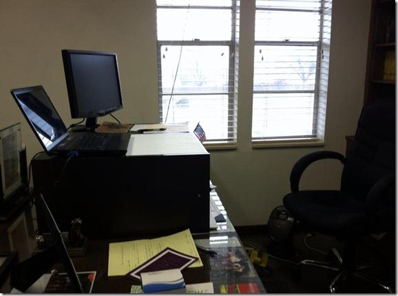 Standing Desk Side