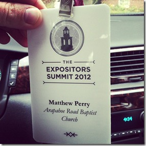 Expositors Summit Badge